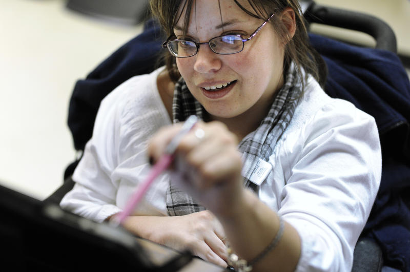 Scant progress on jobs for disabled Americans