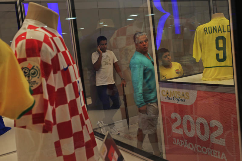 World Cup shirt exhibition gets attention
