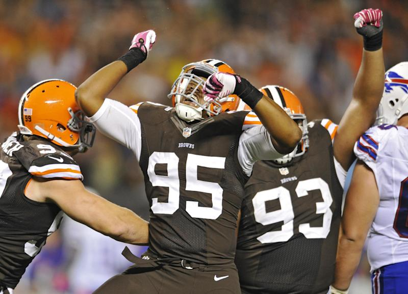 Browns enjoy surprising view from atop division