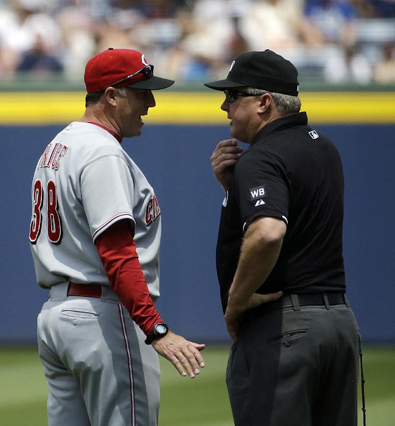 Reds waiting to hear from MLB on replay dispute