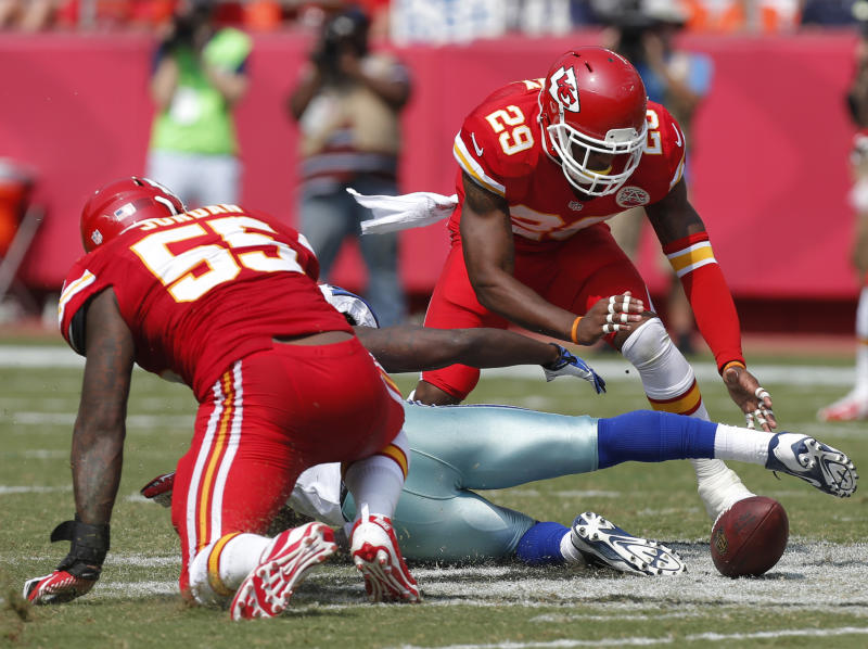 Chiefs salivating at thought of Giants' miscues