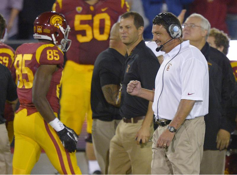 Notre Dame looking for consecutive wins vs. USC