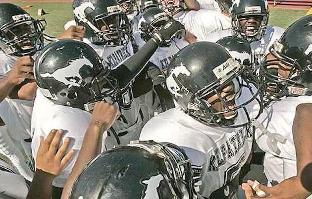 The Camp Kilpatrick Mustangs, who will play their final season for the foreseeable future in 2012 — ChasingtheFrog.com