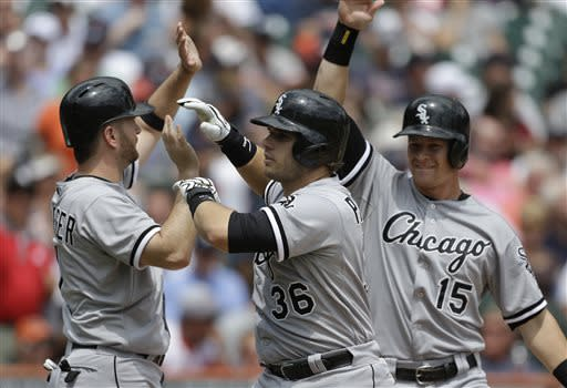 Phegley's slam leads White Sox over Tigers 6-3