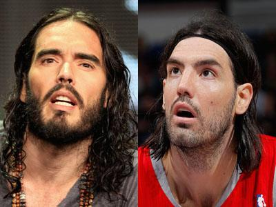 Russell Brand / Luis Scola
