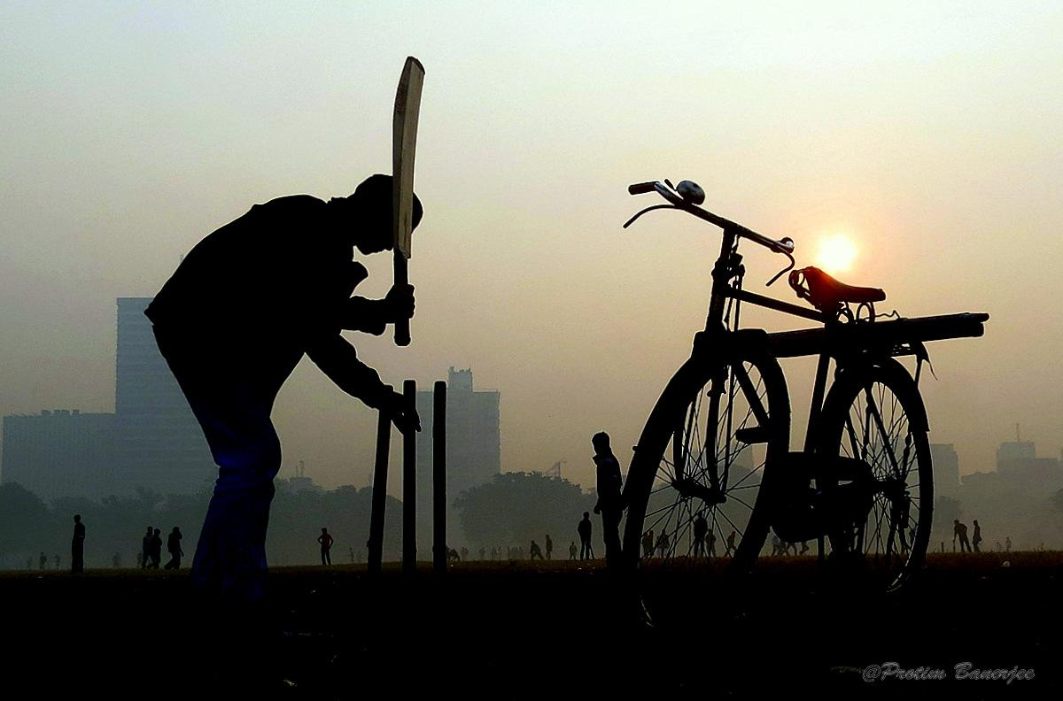 The hardest part of the game is getting the stumps to stay upright, by Protim Banerjee