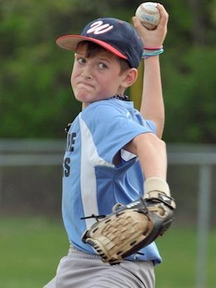 12-year-old Tanner Beebe is no longer allowed to pitch because of his power — Don Treeger:MassLive.com