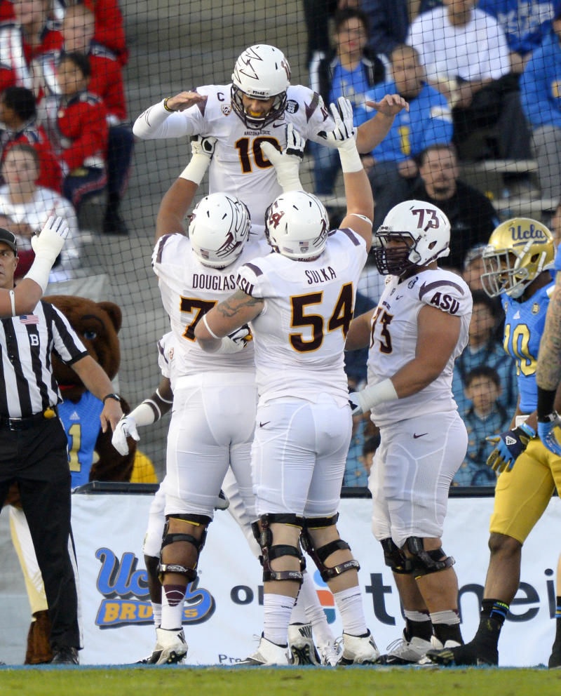 Sun Devils amped for rivalry game against Arizona
