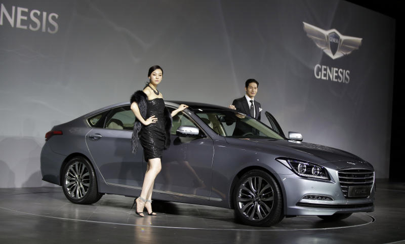 With new Genesis, Hyundai aims to burnish brand