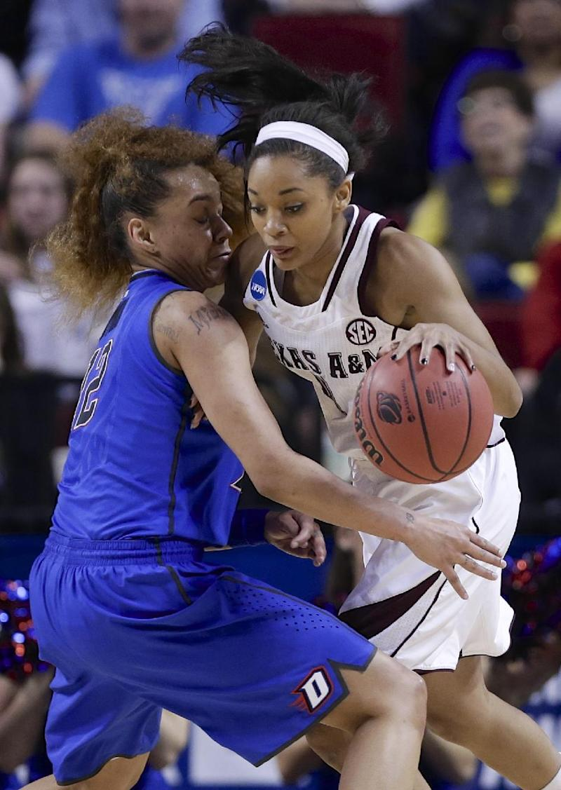 Walker powers Texas A&M women past DePaul 84-65