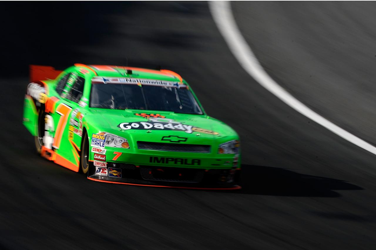 CONCORD, NC - MAY 26:  Danica Patrick drives the #7 GoDaddy.com Chevrolet during the NASCAR Nationwide Series History 300 at Charlotte Motor Speedway on May 26, 2012 in Concord, North Carolina.  (Photo by Jared C. Tilton/Getty Images for NASCAR)