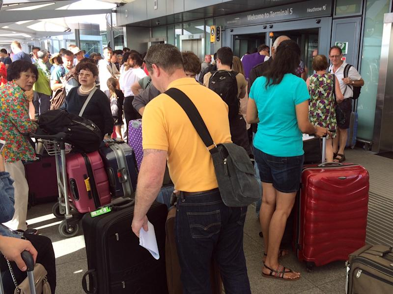 BA passengers facing third day of chaos