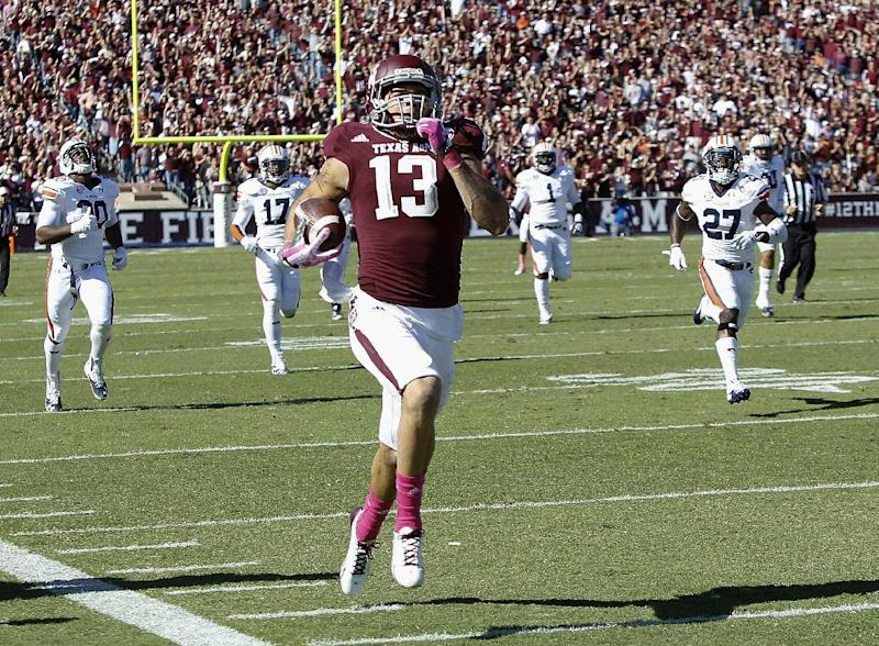 Texas A&M WR Mike Evans declares for NFL draft