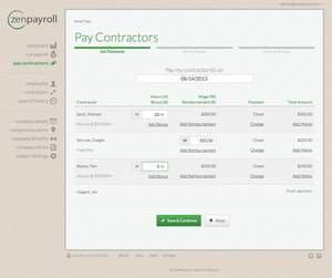 ZenPayroll Brings Delight to Paying Contractors