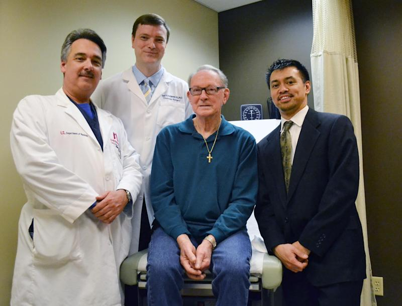 Illinois man, 73, oldest to get new lung in Ky.