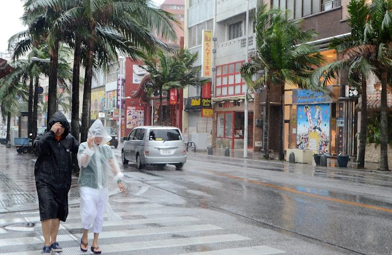 Flights Cancelled As Powerful Typhoon Set To Hit Japan