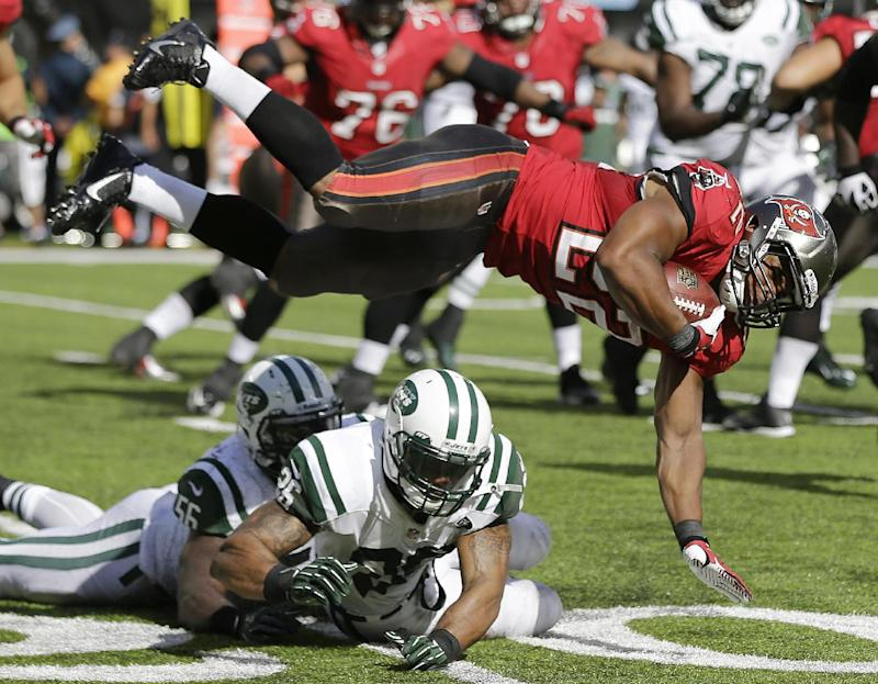 Bucs hope to get ground game going vs. Saints