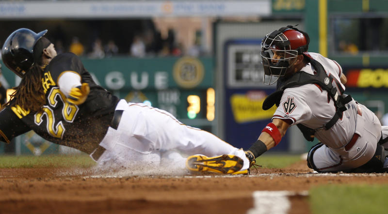 Tabata, Cole lead Pirates over Diamondbacks 6-2