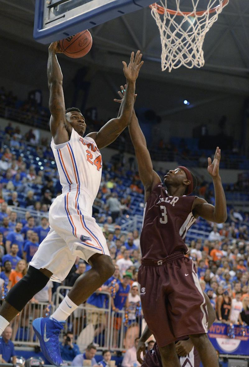 Prather scores 27, Gators pull away for 86-56 win