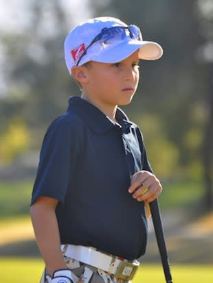 10-year-old charity golfer Kyle Lograsso — KyleLograsso.org