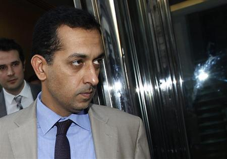 Trainer Mahmood Al Zarooni leaves after a Disciplinary Panel Hearing at the British Horse Racing Authority in London