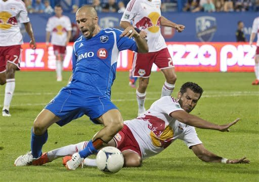 Di Vaio, Arnaud lead Impact past Red Bulls