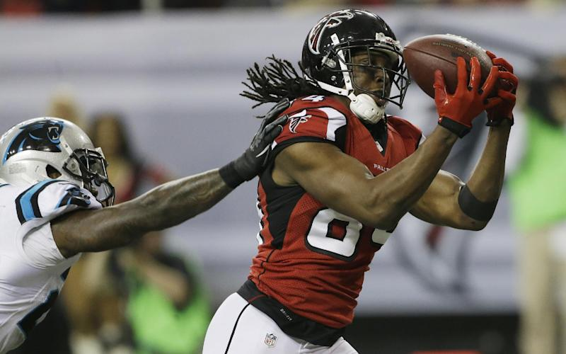 Falcons WR White agrees to 4-year extension