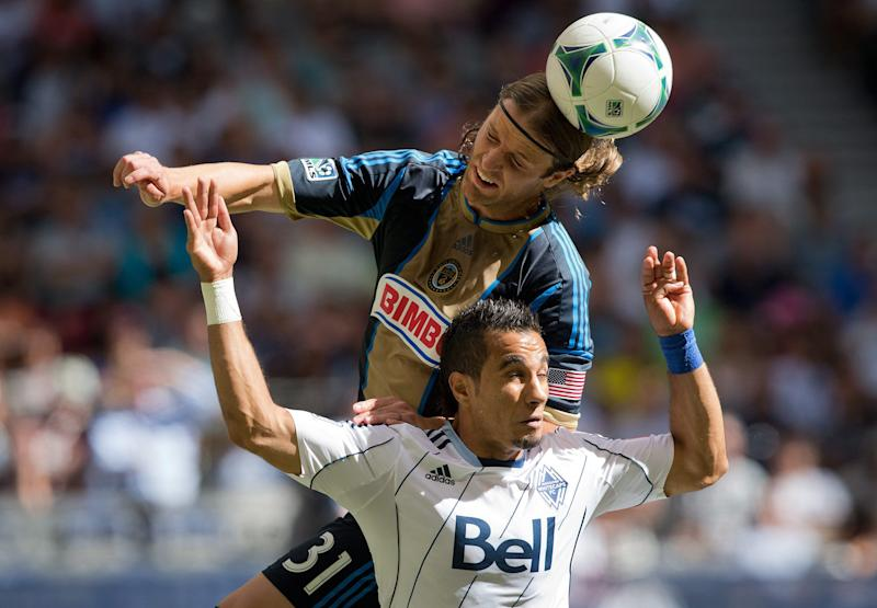 Hoppenot gives Union a 1-0 win over Whitecaps