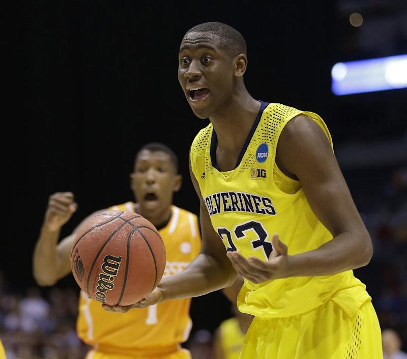Michigan's LeVert able to play again after injury