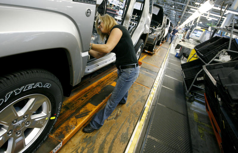 Ohio Jeep plant hiring part-time workers