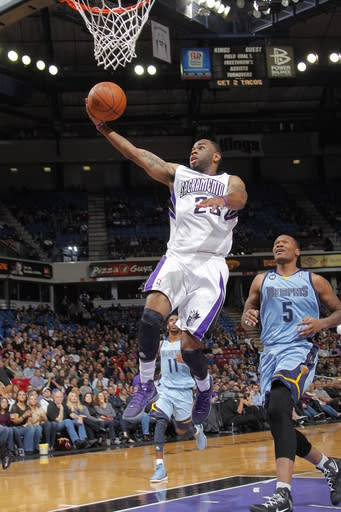 Kings top Grizzlies 119-110 for third straight win