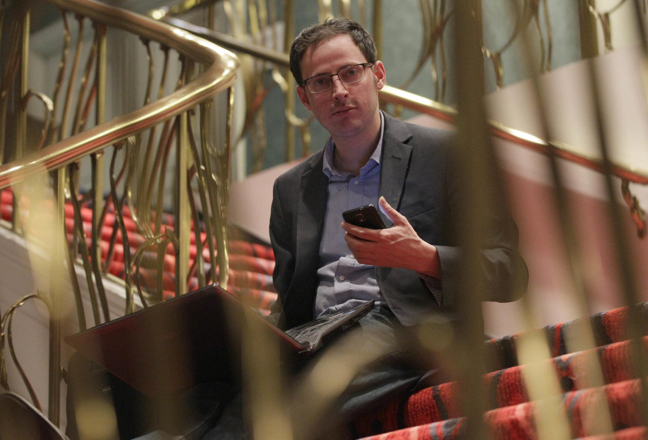 Political polls became not only a Web habit, but also the story themselves, as established pollsters' methodologies were questioned and algo-geek Nate Silver performed a statistical sweep. (Nam Y. Huh/AP Photo)