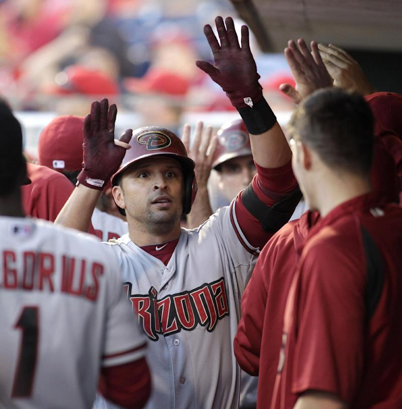 Diamondbacks outlast Phillies 12-7 in 18 innings