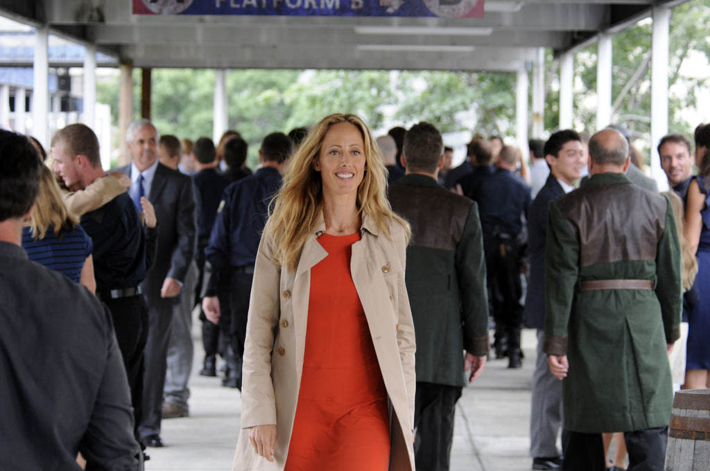 """Soul Train"" Episode 105 -- Pictured: Kim Raver as Julia"