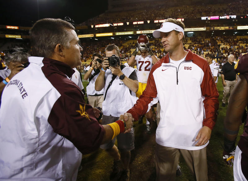Silly season arrives early at USC and UConn