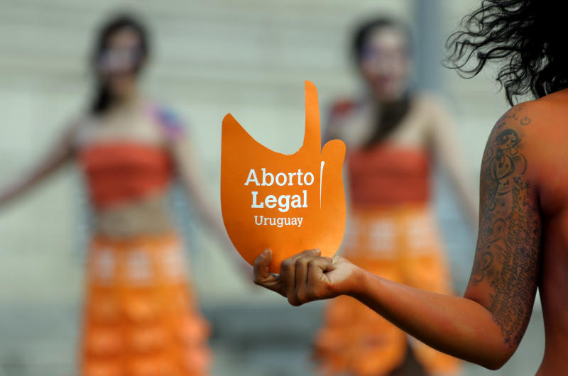 Uruguay lawmakers vote to legalize abortion