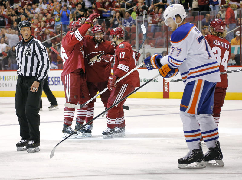 Yandle leads Coyotes to 5-4 win over Oilers