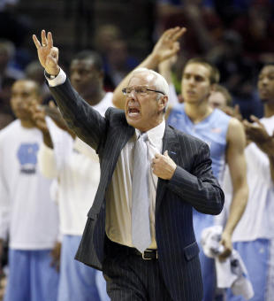 Tar Heels coach Roy Williams has denied knowing of any academic violations in the program. (USA Today)
