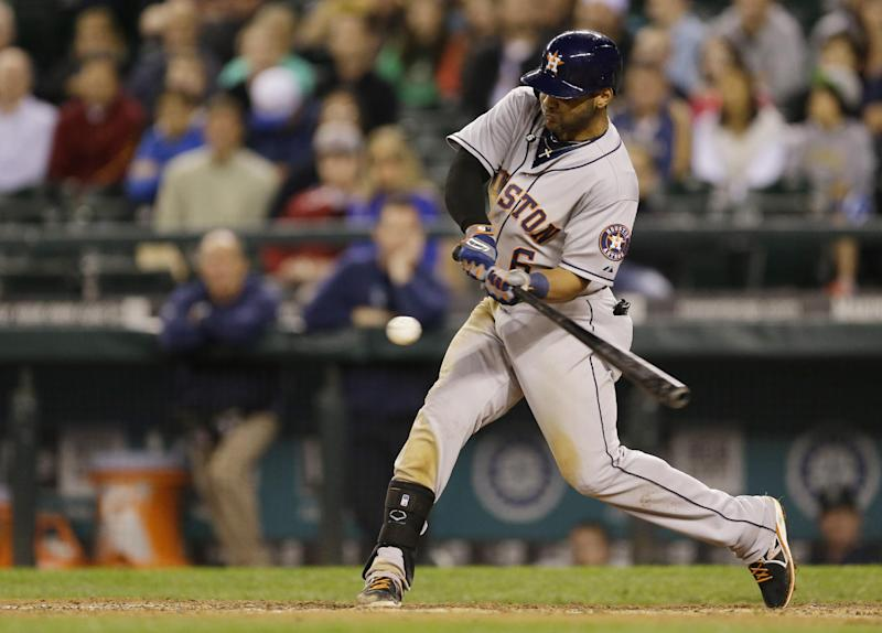 Astros rally for four runs in ninth for 6-4 win