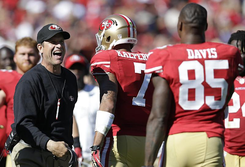 49ers moving the ball with both phases of offense
