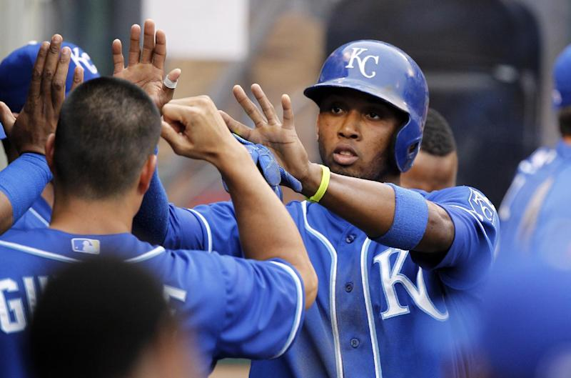 Royals scores 3 runs in 13th to beat Angels 7-4