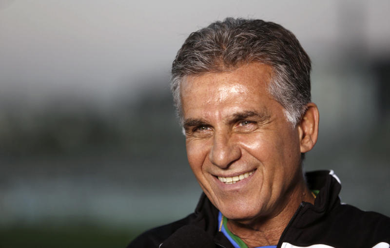 Carlos Queiroz in Sao Paulo, Brazil on June 4, 2014