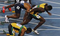 sprinters start How to turn resolutions into habits