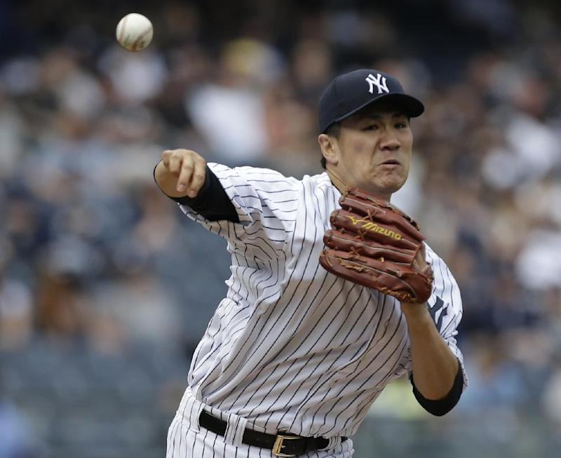 Teixiera backs Tanaka as Yankees beat Rays 9-3