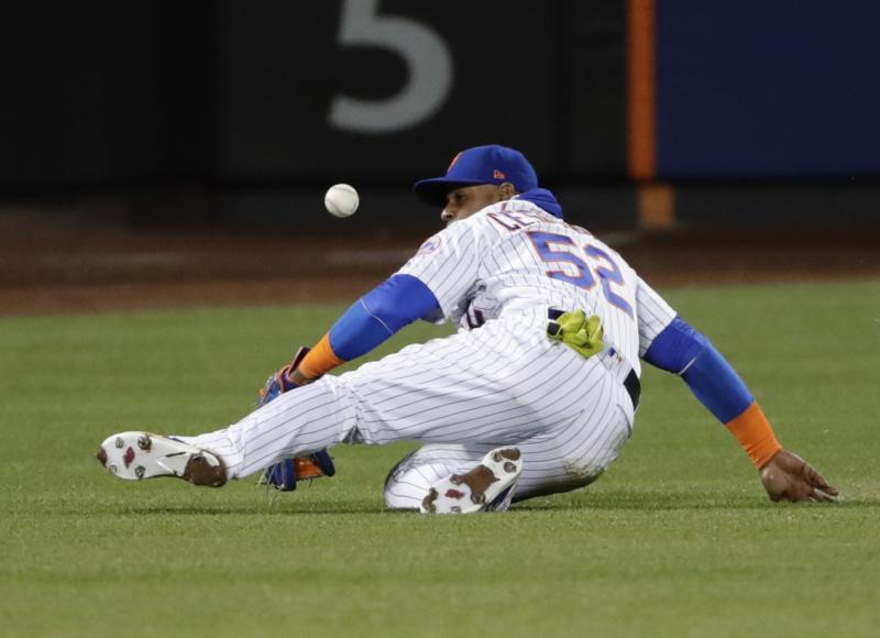 Yoenis Cespedes left Thursday's game against the Philadelphia Phillies in the sixth inning with a hamstring injury