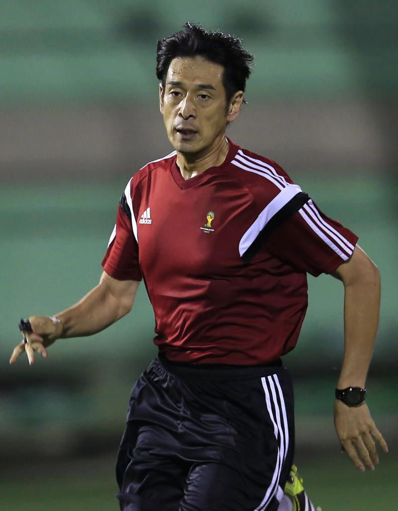 Nishimura of Japan to referee World Cup opener