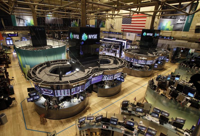 World markets gain in face of US superstorm