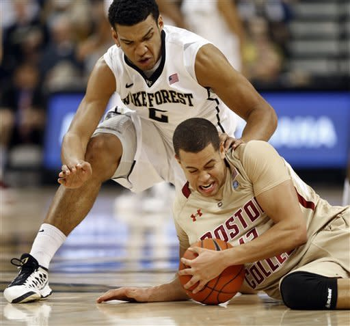 Harris leads Wake Forest past Boston College 75-72