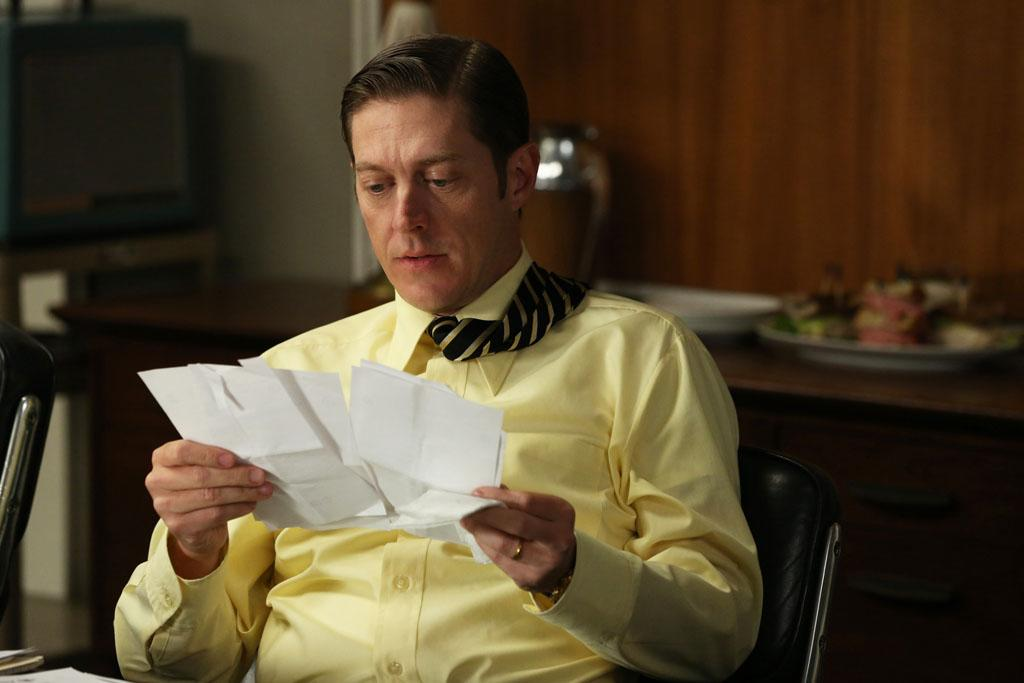 """Ted Chaough (Kevin Rahm) in the """"Mad Men"""" episode, """"The Better Half."""""""