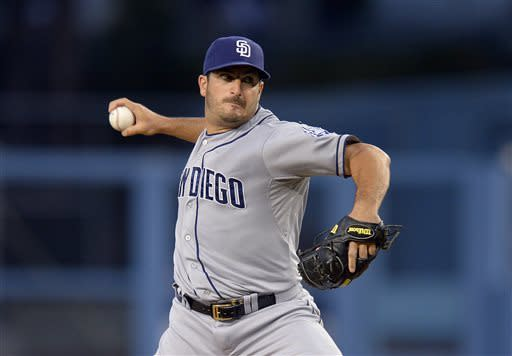 Padres beat Dodgers 6-2 behind Marquis